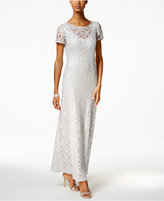 Alex Evenings Lace A-Line Gown