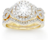 FINE JEWELRY LIMITED QUANTITIES! 1 1/4 CT. T.W. White Diamond 14K Gold Cocktail Ring