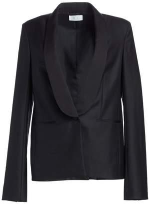 The Row Odice Escorial Wool Shawl Collar Jacket
