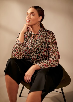 Phase Eight Chloe Leopard Top