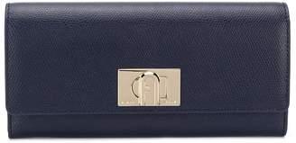 Furla twist-lock continental wallet