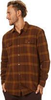 Swell Wilderness Ls Shirt Brown