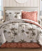 sunham palm tree reversible 8pc california king bedding ensemble bedding