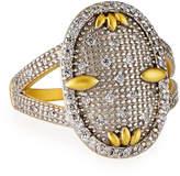 Freida Rothman Fleur Bloom Cocktail Ring, Size 6-8