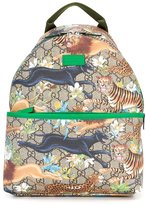 Gucci Kids GG Big Cats backpack