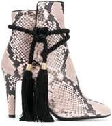 Philosophy di Lorenzo Serafini snake-effect tassel boots