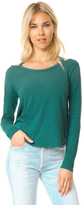 LnA Long Sleeve Bolero Tee
