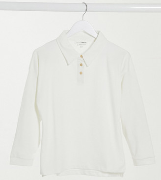 NATIVE YOUTH rib button-up sweatshirt