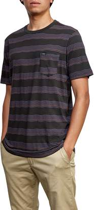 RVCA Wavy Stripe Pocket T-Shirt