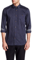 Ted Baker Double Sided Trim Fit Shirt