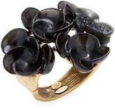 Oscar de la Renta Women's Swirl Flower Bracelet
