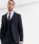 Asos Design ASOS DESIGN Tall skinny suit jacket in navy