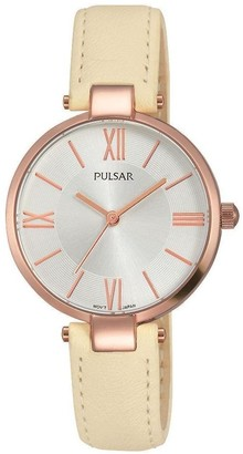 Pulsar Women's Analogue Analog Quartz Watch with Stainless Steel Strap PH8246X1