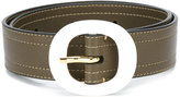 Marni round-buckle belt - women - Leather - 70