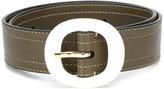 Marni round-buckle belt - women - Leather - 75
