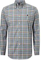 Polo Golf By Ralph Lauren Check Sport Shirt, Spring Lilac