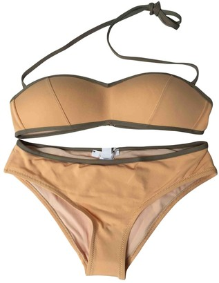 Chloé Orange Synthetic Swimwear