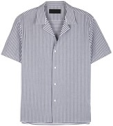 Plac Dark Blue Striped Cotton Shirt