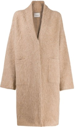 Laneus Oversized Knit Coat
