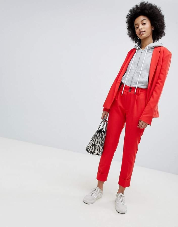 Bershka Coord Tailored Peg Pant