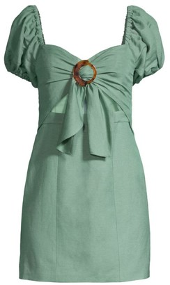 Significant Other Solace Puff-Sleeve Dress
