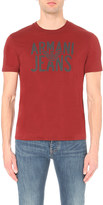 Armani Jeans Eagle logo cotton-jersey t-shirt