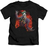 Batman Juvenile Joker's Ave Kids T-Shirt Size 5/