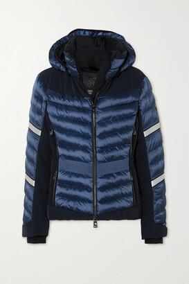 Toni Sailer Madita Splendid Hooded Quilted Padded Ski Jacket