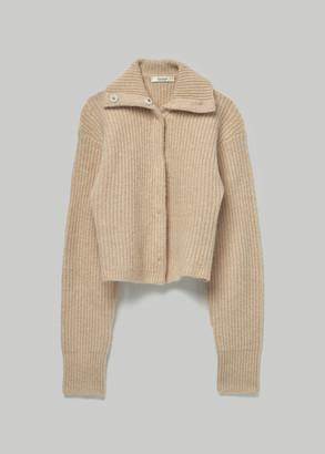 Totokaelo Archive Women's Faye Cardigan Sweater in Cappuccino Size XS