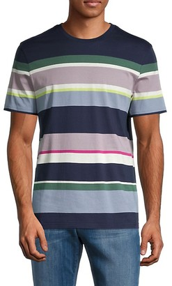 Ted Baker Striped Cotton Tee