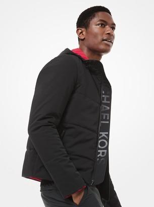 Michael Kors KORS X TECH Hooded Puffer Jacket