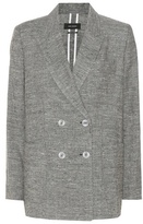 Isabel Marant Kelis Silk And Linen Blazer