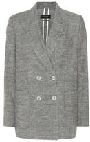 Isabel Marant Kelis silk and linen blazer