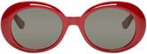 Saint Laurent Red SL 98 California Sunglasses