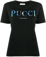 Emilio Pucci logo-printed T-shirt
