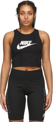 Nike Black Sportswear Heritage Tank Top