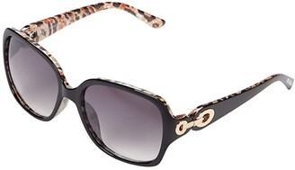 Steve Madden Leah (Black) Fashion Sunglasses