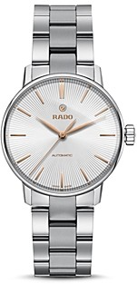 Rado Coupole Classic Automatic Ceramic & Stainless Steel Watch, 32mm
