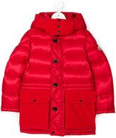 Moncler long padded coat