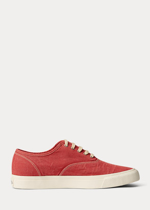 Ralph Lauren New Norfolk Canvas Sneaker