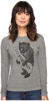 The Original Retro Brand California Bear/Map Superfuzzy Sweatshirt