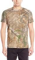 Carhartt Men's Force Cotton Delmont Camo Short Sleeve T-Shirt