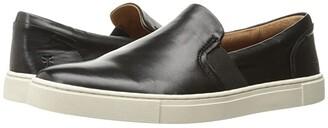 Frye Ivy Slip (Black Soft Nappa Lamb) Women's Slip on Shoes