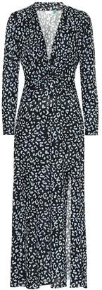 Rixo Anja silk-blend midi dress