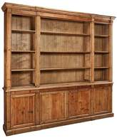 LIBRARY Gracie Oaks Weatherford Bookcase Gracie Oaks Color: Warm Honey