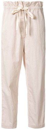 Venroy Cropped Twill Trousers