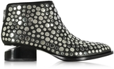 Alexander Wang Kori Black Leather Ankle Boot w/Studs