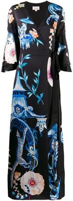 Temperley London Euphoria wrap dress