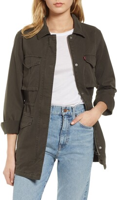 Levi's Cotton Oversize Military Jacket