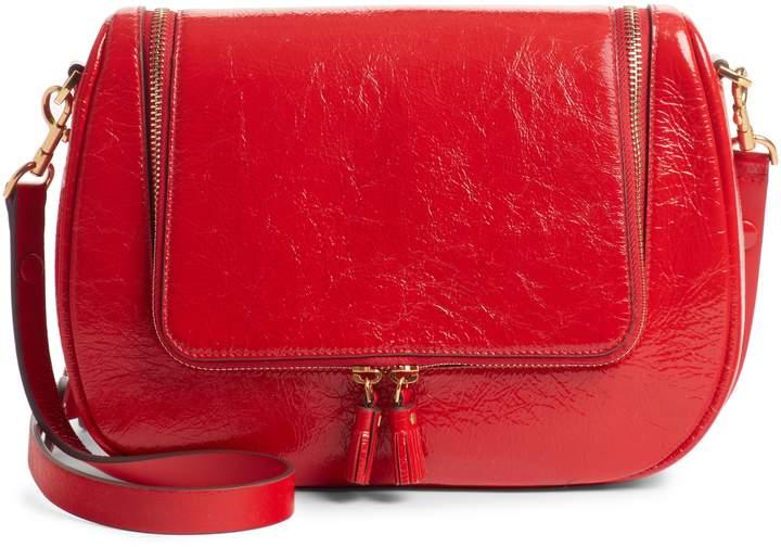 Anya Hindmarch Small Vere Lambskin Leather Crossbody Satchel